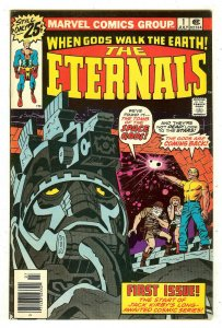 Eternals 1   Origin & 1st Ikaris and the Eternals   Jack Kirby