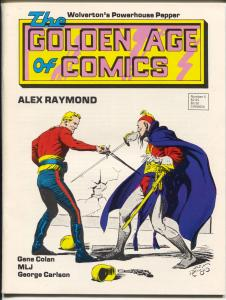 Golden Age Of Comics #5 1983- MLJ Superheroes-Jack Cole-Pogo-Basil Wolverton-VF