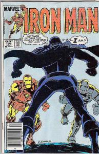 Iron Man #196 (Jul-86) FN/VF Mid-High-Grade Iron Man