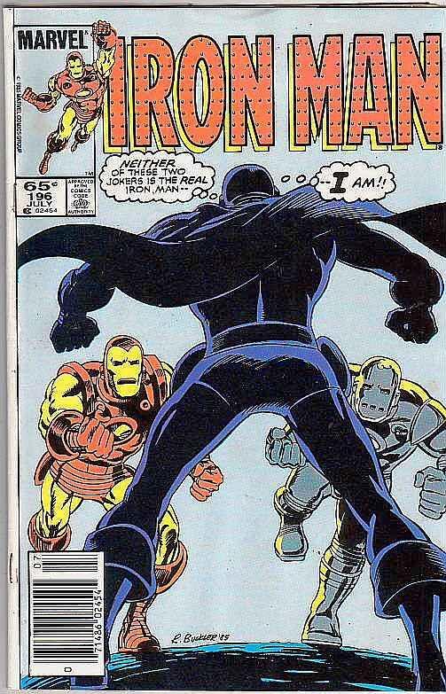 Iron Man #196 (Jul-86) FN/VF Mid-High-Grade Iron Man