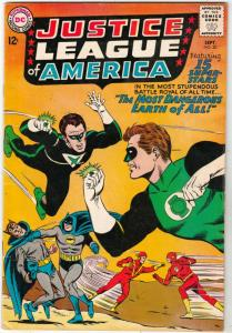 Justice League of America #30 (Sep-64) VG/FN+ Mid-Grade Justice League of Ame...