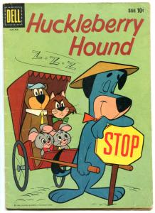Huckleberry Hound #3 1960- Dell Comics- Hanna Barbera - VG-