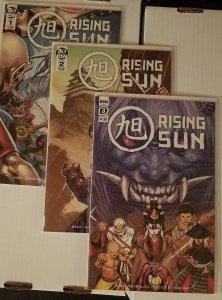 Rising Sun #1-3 (2020) - Complete Run