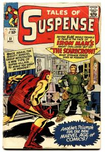 Tales of Suspense #51 comic book-IRON MAN-Silver-Age MARVEL 12 CENT-1964