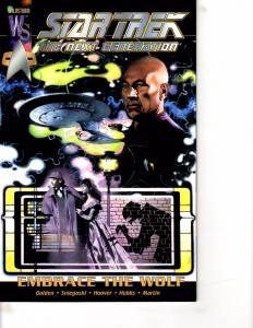 Lot Of 2 Star Trek WildStrom Comic Book #Next Generation 1 Enter Wolves 1  BH41