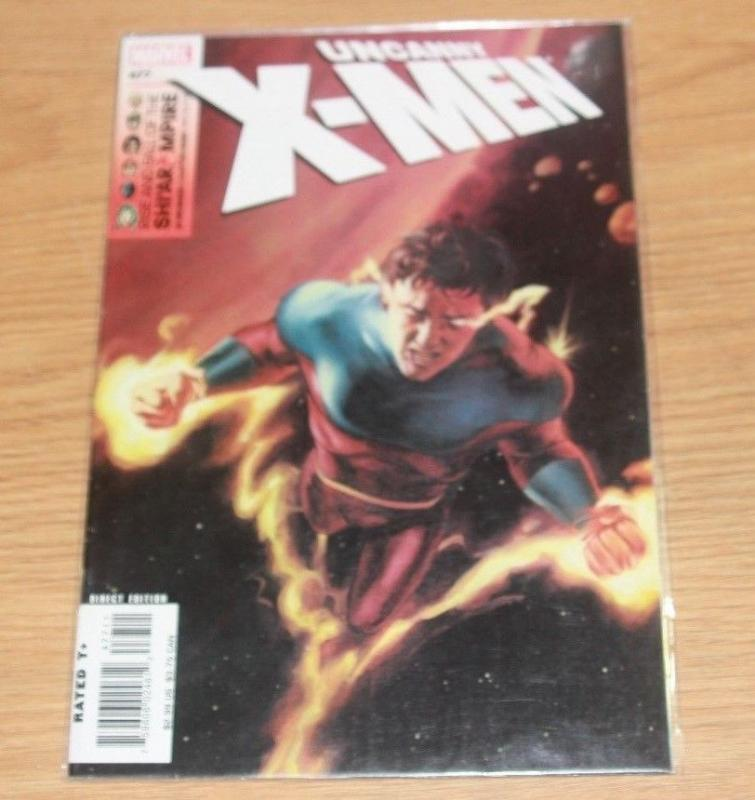 UNCANNY X-MEN #477 (Oct 2006, Marvel) VULCAN SHI'AR EMPIRE FALLS