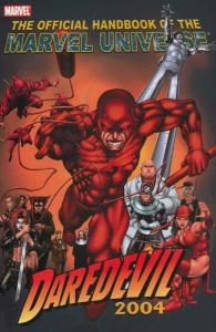 Official Handbook of the Marvel Universe: Daredevil 2004 #1 VF/NM; Marvel | save