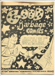 Good Garbage Comics #1 1968-SAlam Hanley-all Capt Marvel versions-1st issue-FN