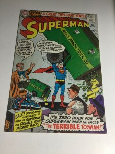Superman 182 Vg+ Very Good+ 4.5 DC Comics