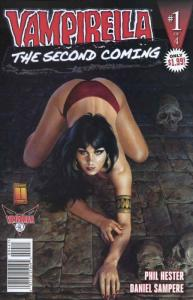 Vampirella: Second Coming #1D VF/NM; Harris   save on shipping - details inside
