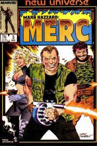 Mark Hazzard: MERC #5, NM- (Stock photo)