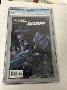 Batman 619 Second Printing Variant Cover Cgc 9.8 White Pages
