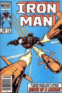 Iron Man (1968 series) #208, VF+ (Stock photo)