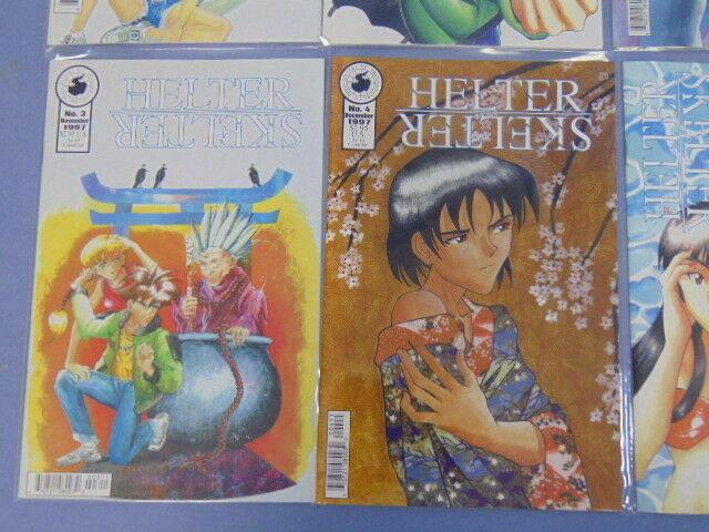 Helter Skelter Antarctic Press Manga Comic Books Issues #0 to #6 + Monthly #1