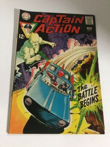 Captain Action 2 Vf+ Very Fine+ 8.5 DC Comics Silver Age