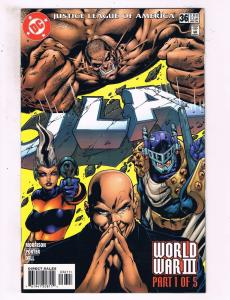 Lot Of 5 JLA DC Comic Books # 36 37 38 39 40 Justice League Batman Flash CH4