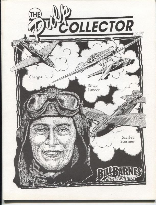 Pulp Collector Vol. 4 #2 1989-Bill Barnes Air Adventures-Oriental Menace-FN+