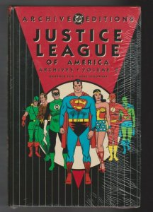 JUSTICE LEAGUE OF AMERICA - ARCHIVES VOL. 2 HARDCOVER 1993 DC COMICS SEALED
