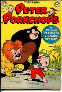 Peter Porkchops #7 1950-DC-Big Game Hunter-Superman-FN