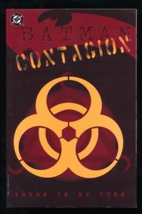 BATMAN CONTAGION - There is No Cure - Graphic Novel DC Comics VF Copy! (SIC392)