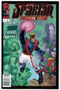 Spartan Warrior Spirit #1 (Image, 1995) VF/NM