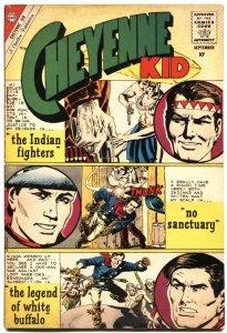 CHEYENNE KID #24-JOHN SEVERIN COVER & STORY ART-ROCKY LANE-1960