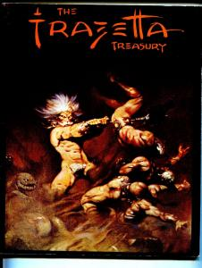 Frazetta Treasury 1975-interview-checklist of his work in all mediums-VG+