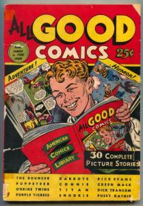All Good Comics 1944- Green Mask- incomplete bargain