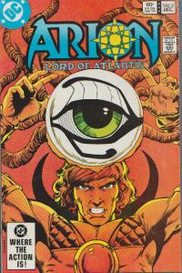 ARION - LORD OF ATLANTIS #2 - 1982 -  DC, BAGGED & BOARDED