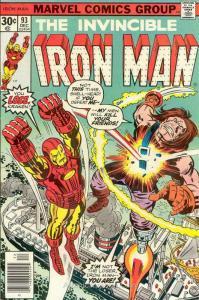 Iron Man (1st Series) #93 VG; Marvel | low grade comic - save on shipping - deta