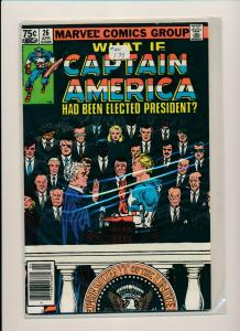 Marvel What If CAPTAIN AMERICAN been elected President? #26 1981 VG/F (PF531)