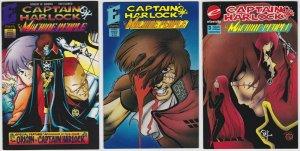 Captain Harlock: The Machine People #1, 2, 3 (993) Set of 3 Eternity