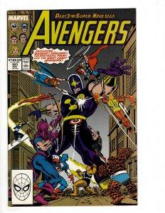The Avengers #303 (1989) J604
