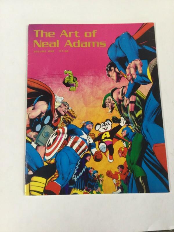 The Art Of Neal Adams Volume 1 Oversized SC B30