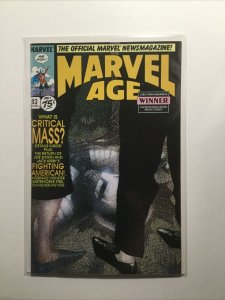 Marvel Age 83 Near Mint Nm Marvel