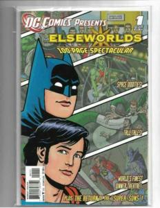 DC COMICS PRESENTS ELSEWORLDS #1 - NM - VERY HTF IN HIGH GRADE - MODERN AGE KEY