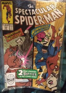 The Spectacular Spiderman #153 NM in original poly bag Direct Edition