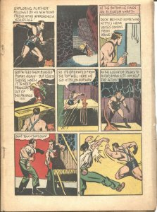 AMAZING MAN #20-1941--CENTAUR--SHARK--IRON SKULL--BOB LUBBERS ART---RARE---POOR