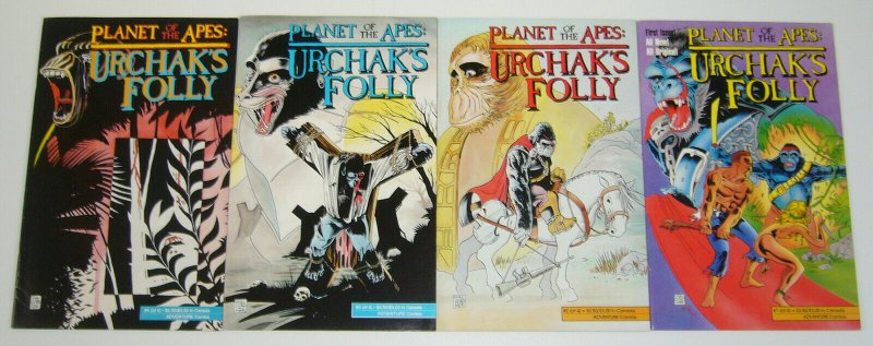 Planet of the Apes: Urchak's Folly #1-4 VF/NM complete series - adventure comics