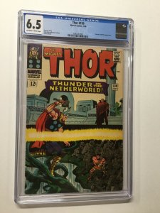 Thor 130 Cgc 6.5 Ow/w Pages Marvel Silver Age