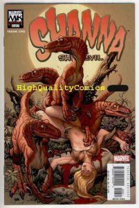 SHANNA the SHE-DEVIL #6, NM+, Frank Cho, Dinosaurs, 2005, more Cho in store