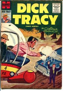 Dick Tracy  #101 1956-painted cover-Chester Gould-FN