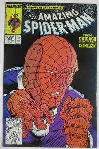AMAZING SPIDER-MAN  #307 (Marvel, Late 10/1988) (VF-NM) Chameleon! McFarlane!