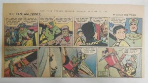 The Bantam Prince Sunday by Lariar and Pfeufer from 10/21/1951 Size: 7.5 x 15 in