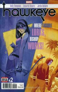 Hawkeye (5th Series) #2 FN; Marvel | save on shipping - details inside