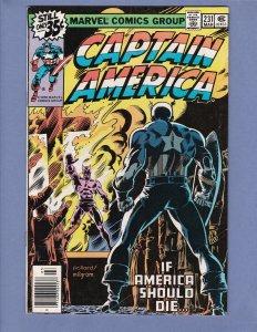 Captain America #231 VG Marvel 1979