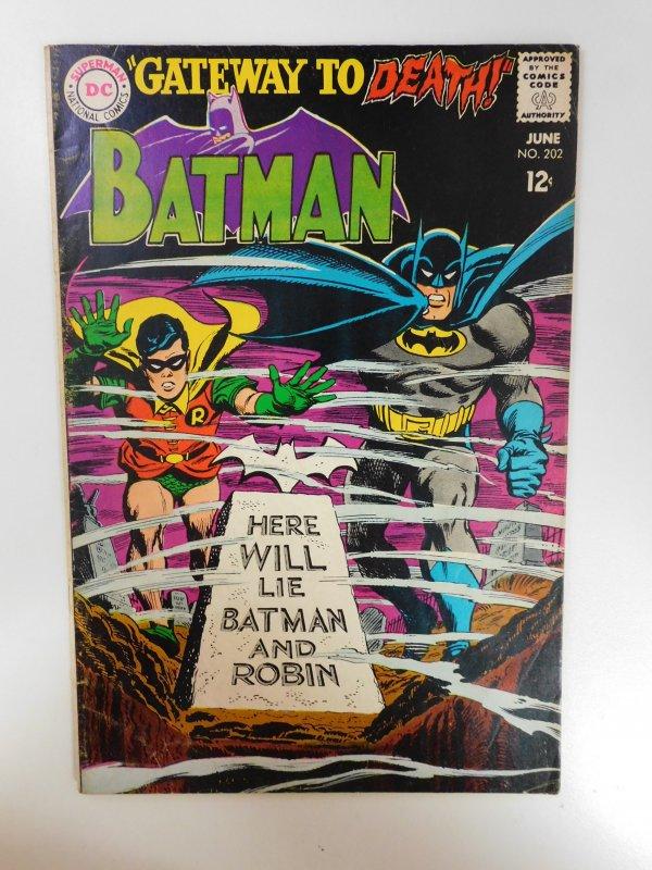 Batman #202 (1968)