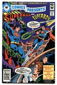 DC COMICS PRESENTS #14-Superman-RARE WHITMAN variant