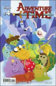 Adventure Time #4B VF/NM; Boom! | save on shipping - details inside