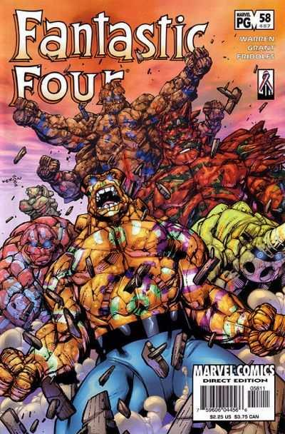 Fantastic Four (1998 series) #58, NM (Stock photo)